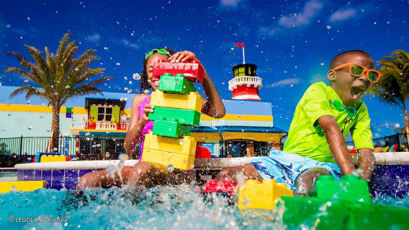 Upbeat News - Lego Movie World Opens At Legoland Florida
