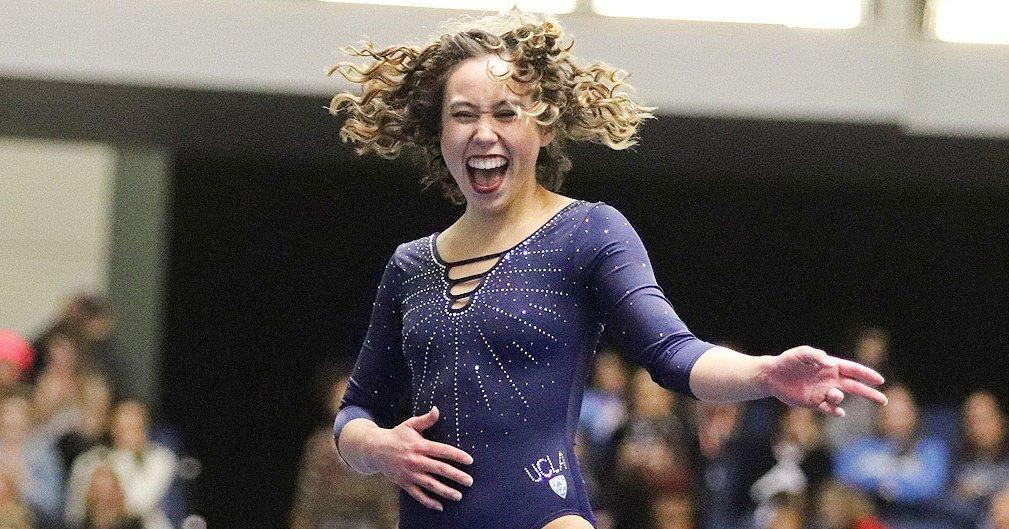 Upbeat News - UCLA Gymnast Scores